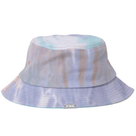 Script Logo Tie-Dye Bucket Hat