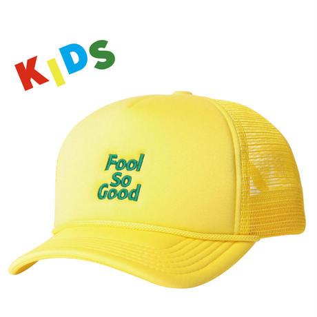 """KIDS""""Fool So Good""""Curve Visor Mesh Cap"""