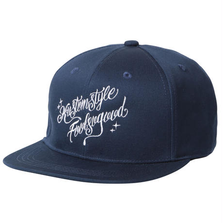 Fool So Good x KUSTOMSTYLE Script Flat Visor Snap Back Cap