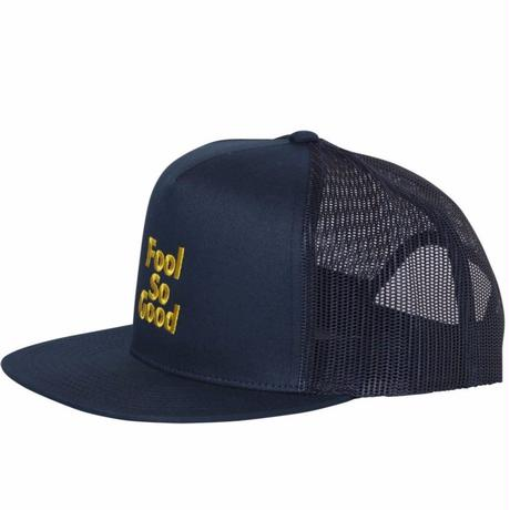 """Fool So Good"" Snap Back Mesh Cap"