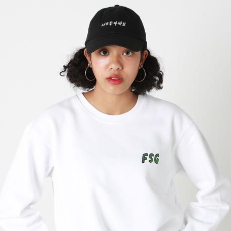 """FSG""Hangul Logo Low Cap"