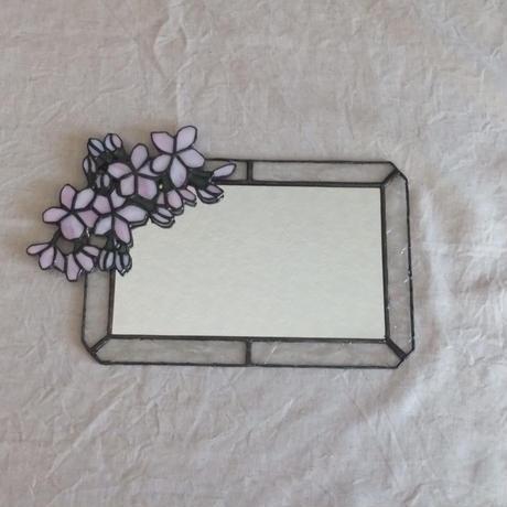 鏡(桃の花)