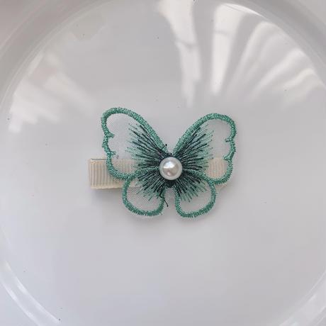 【即納】メルヘンで存在感あり♡蝶々のヘアクリップ ヘアピン