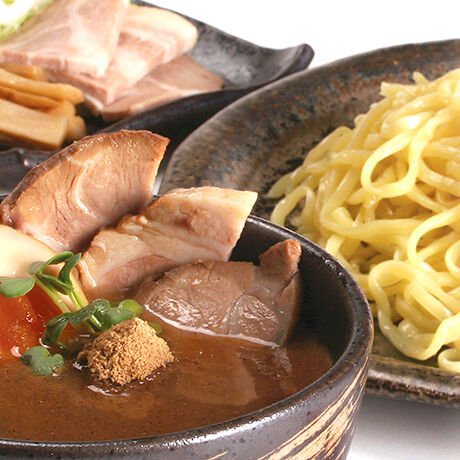 函館マメさん 醤油つけ麺