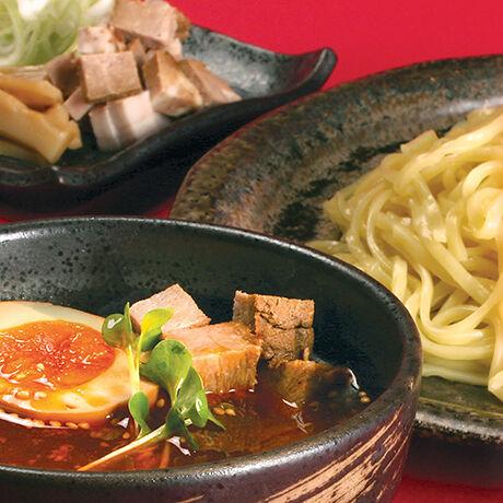 函館マメさん 辛味噌つけ麺