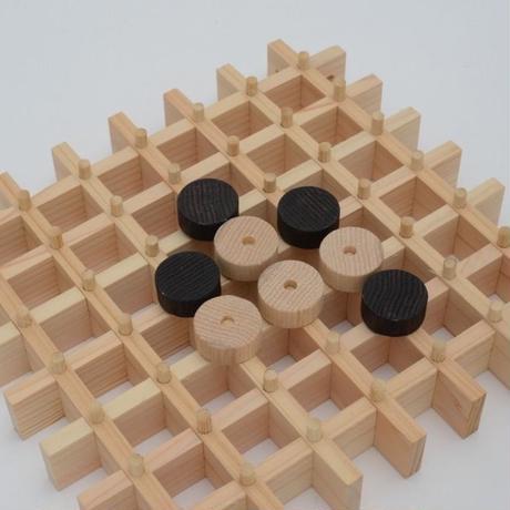 ふれあい囲碁盤(7路盤)