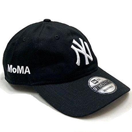 NEW ERA × MoMA 9TWENTY STRAP BACK CAP NY YANKEES  (NAVY)