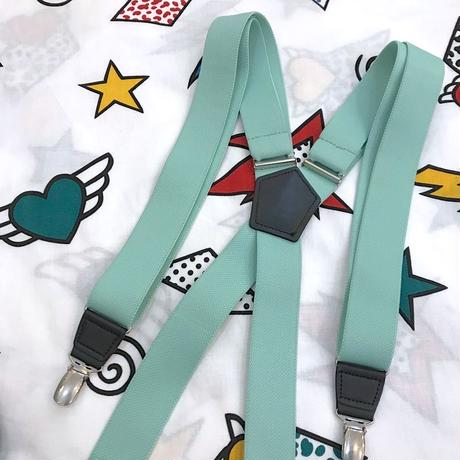 🌈MINT GREEN SUSPENDER🌈