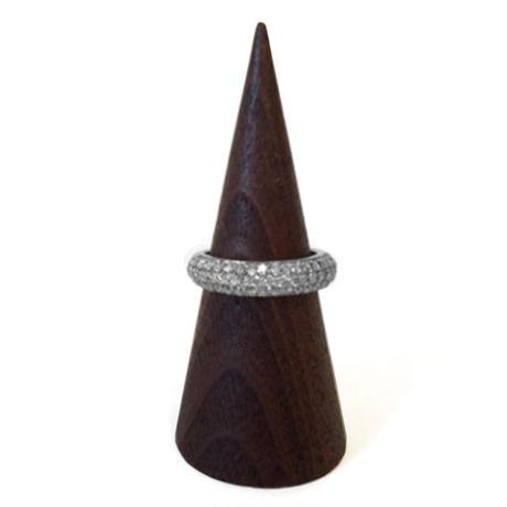 プラチナ ダイヤモンドパヴェリング