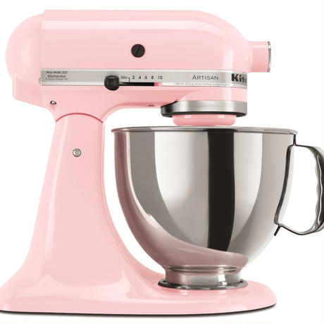 KitchenAid キッチンエイド 5段階スピード切替スタンドミキサー ピンク
