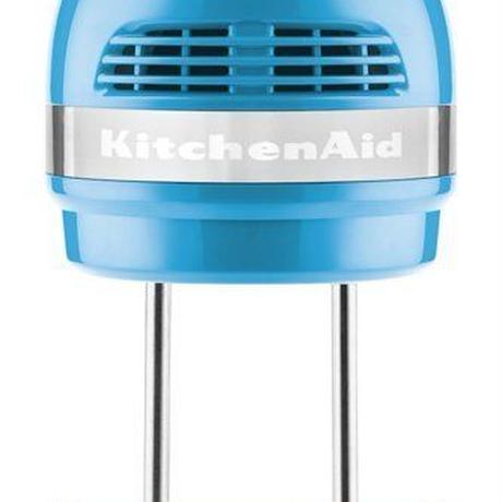 KitchenAid キッチンエイド 5段階スピード切替ハンドミキサー ・クリスタルブルー