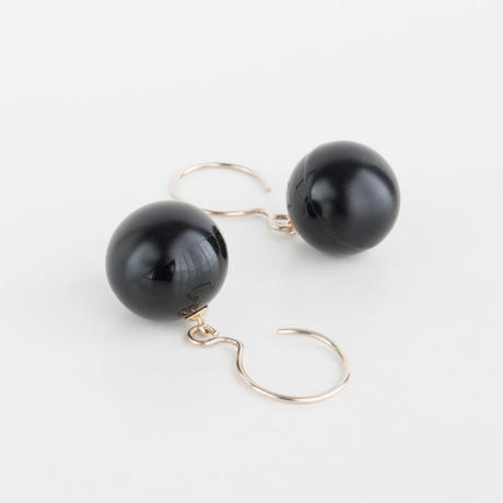 CLASSIC/SPHERE Earring T1 [Black]