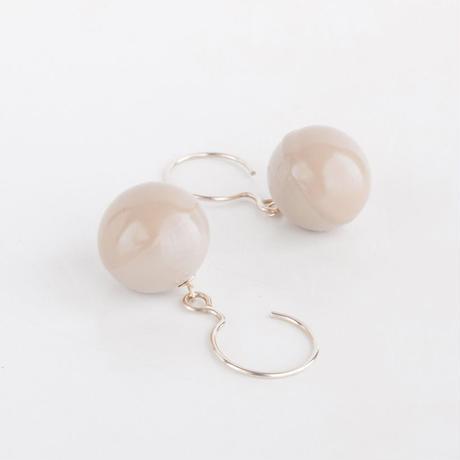 CLASSIC/SPHERE Earring T1 [Beige]