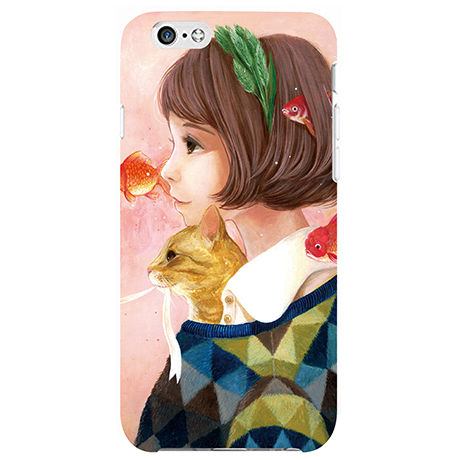 iPhone6/6Sケース 猫背