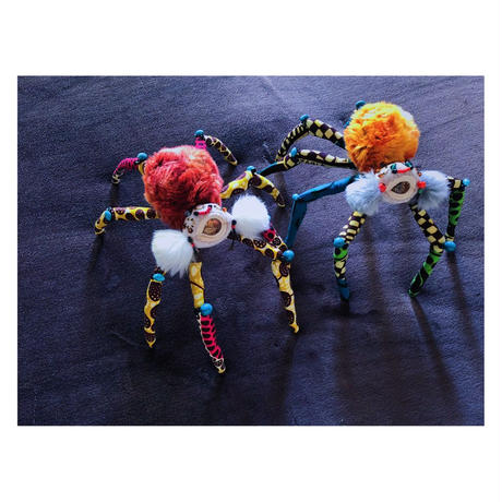 ORGONE CREATURES oneeye spider yellow