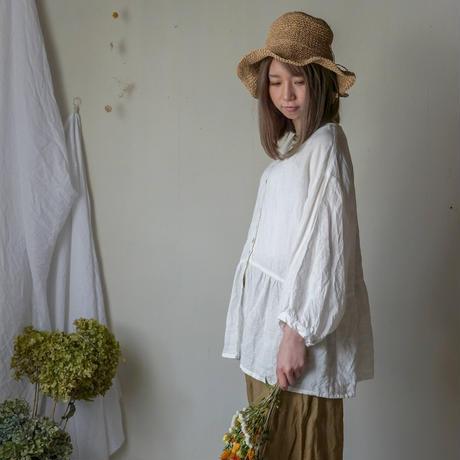 週末のカンパーナブラウス white【web価格】
