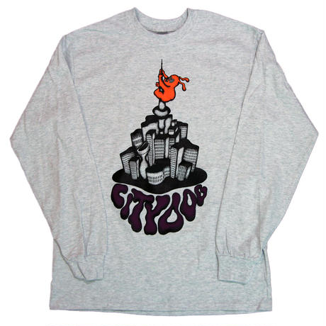 CITY DOG  Long Sleeve Tee