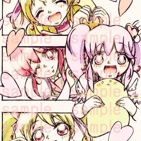 【イラスト】ラブリーバレンタイン【バレンタインデー2015】