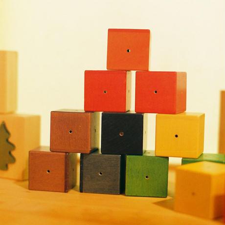 〈0ヶ月-〉【ベビー/音の玩具】〈4ヶ月頃-〉【ベビー/積木】ベビーキューブ