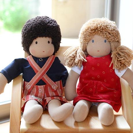 〈3才-〉ジルケ人形(小)女の子 金髪