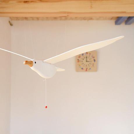 〈6ヶ月-大人〉かもめ(中)※翼の幅約76cm