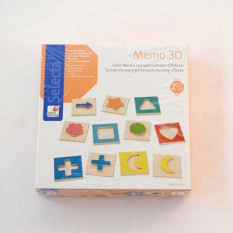 〈2才半〜〉3Dメモリー【形の神経衰弱】