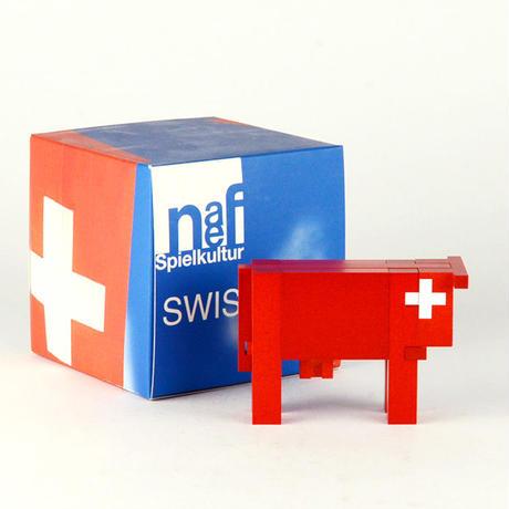 ※次回入荷時期未定※〈7才-大人〉スイスの赤い牛(小)