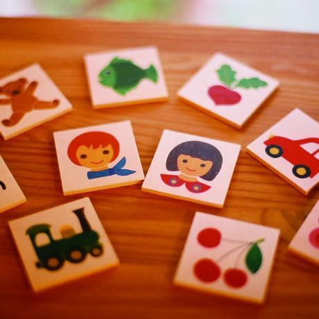 〈購入時期目安:2才〉【はじめてのゲーム】【木製ゲーム/絵合わせ】キーナーメモリー