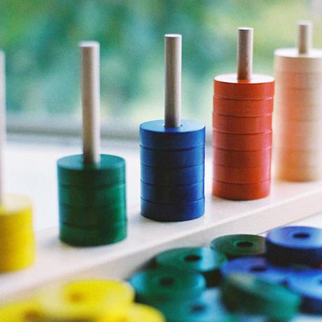 〈2才-〉【「数」「量」の玩具】【指先を使う玩具】プラステン