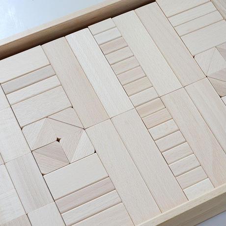 〈3才-〉フレーベル積木(大)(208ピース/木箱入り)
