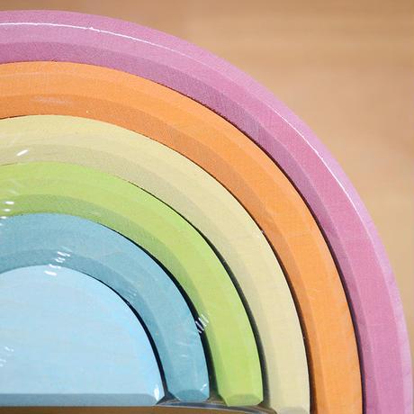 〈1才-〉虹色トンネル パステル 大