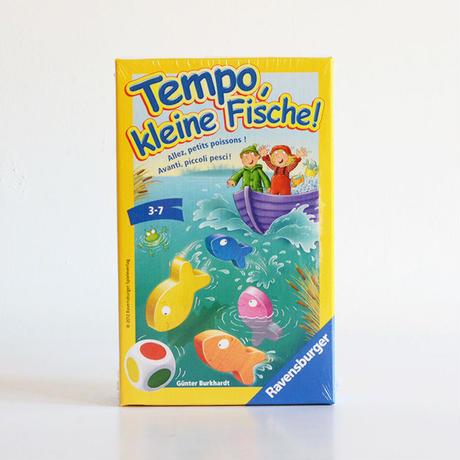 〈購入時期目安:3才〉【ゲーム/簡単なすごろく遊び】テンポフィッシュ