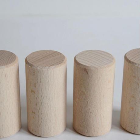 ※取り寄せ品1週間〜2週間※〈3才-〉【追加の積木】木箱入り保育つみき 円柱62ピース