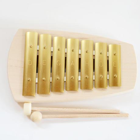 【鉄琴】【聴く・奏で遊び】シェルズグロッケン ペンタトニック7音