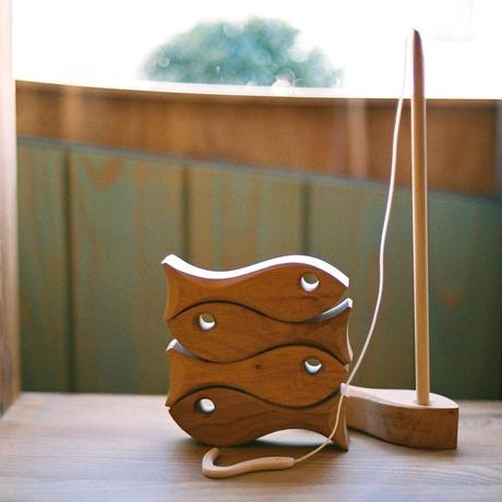 〈2才-5才〉【木製ゲーム】魚釣り