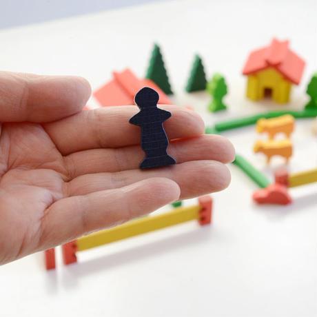 〈2才-大人〉【追加の積木】スイスの家