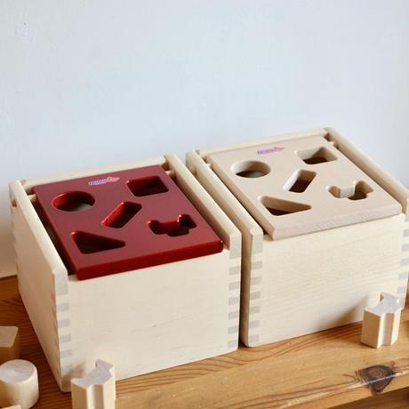 〈1才-〉Mポストボックス赤 / 白木