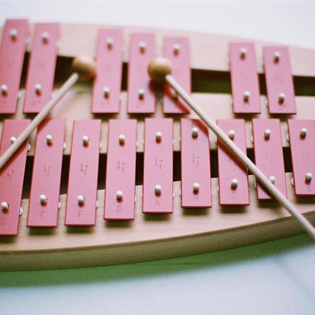 【鉄琴】【弾く・音階との出会い】二段メタルフォン NG30