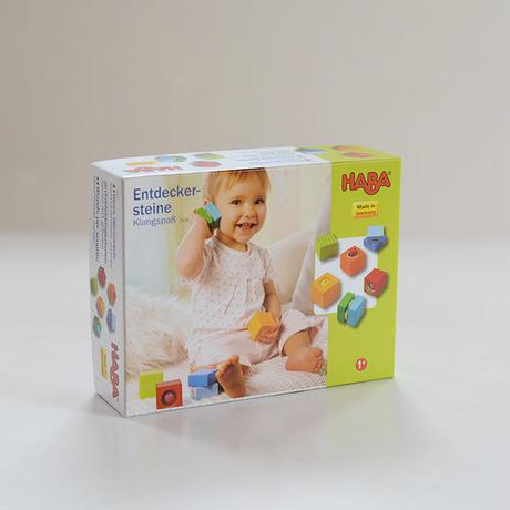 〈8ヶ月-〉HABAベビーブロックス・サウンド(ドイツ製)