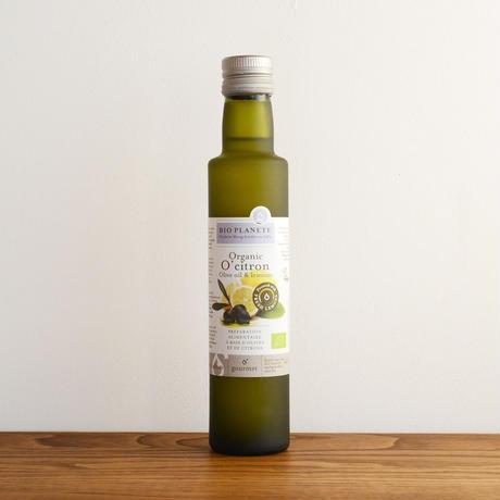 【味付きオリーブオイル】ビオプラネット オーガニックEXVオリーブオイル レモン 250ml