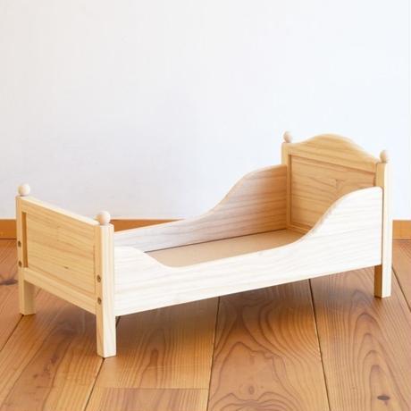 〈2才-7才〉【人形遊び用ベッド】ドールベッド