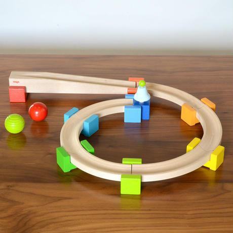 〈10ヶ月-2才〉【動きの玩具】【はじめての玉の道】ベビークーゲルバーン・小