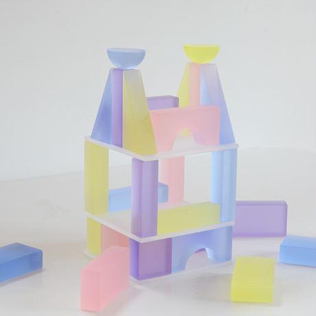 〈4才-〉Lumiブロック パステル (28ピース)