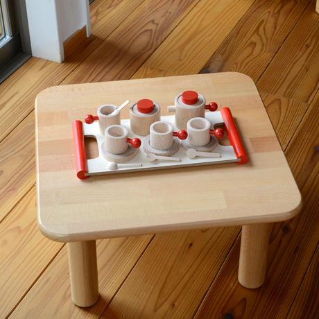 〈1才-大人〉【ままごと/子ども用家具】ままごとテーブル