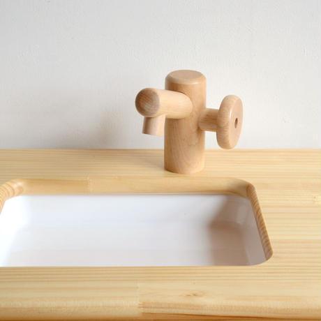 ※取り寄せ品※ 〈2才-〉乳児用 白木流し台  (取り寄せ到着目安:1週間)