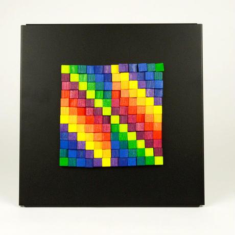 〈5才-大人〉【色・形の構成遊び】マグネットレリーフ32