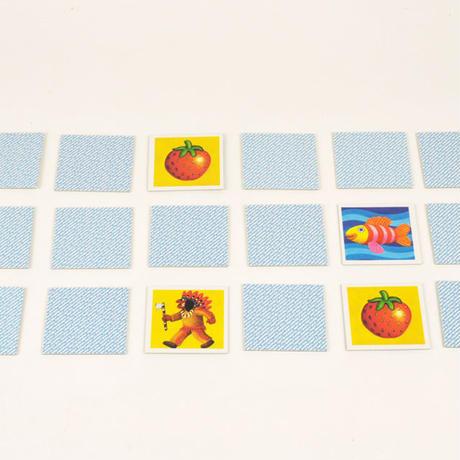 〈購入時期目安:2才-3才〉【ゲーム/記憶力を要する遊び(神経衰弱)】キンダーメモリー