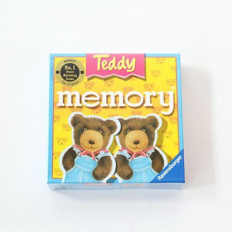 〈購入時期目安:2才-3才〉【ゲーム/絵合わせ・メモリーゲーム】テディメモリー