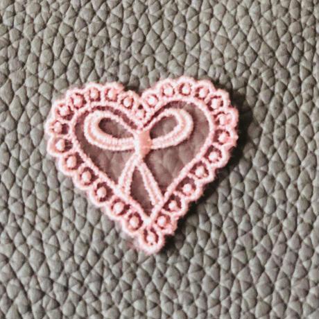 petit ribbon モチーフ pink