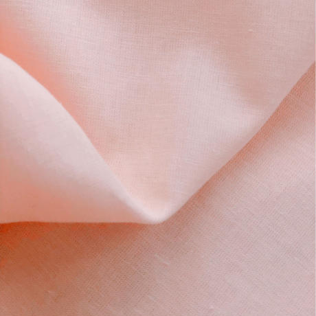 linen cotton  salmon pink
